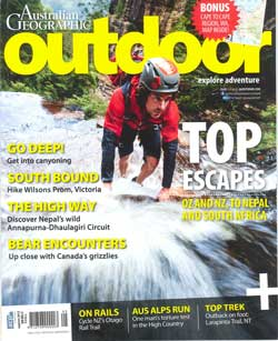 Australian Geographic Outdoor Features Princeton tec, Kong, Edelrid and Osprey